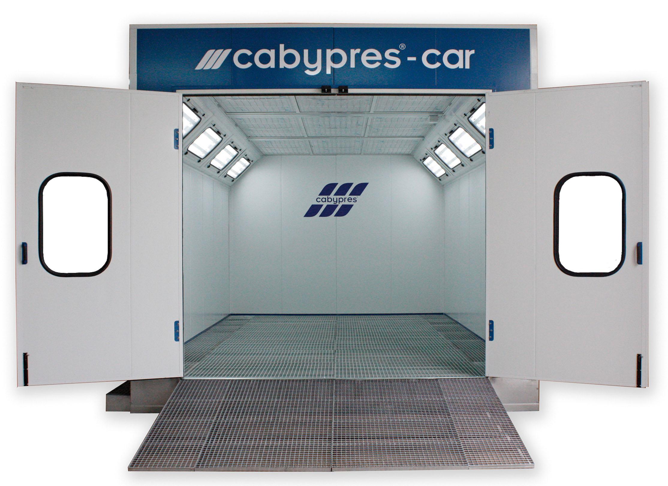 Cabinas de pintura para coches. Cabinas horno con sistema de ...